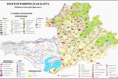 Даурский участок Зоогеографическая карта_1